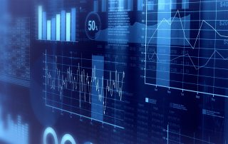 Financial Graphs and stats background